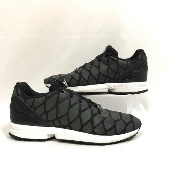 best service c230e 1fe59 Adidas ZX Flux Xeno Reflective Mermaid Sneakers 7